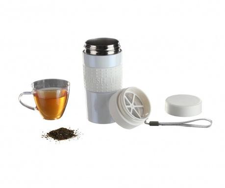 Izolirana-termo skodelica in filter za čaj Elise Travel 360 ml
