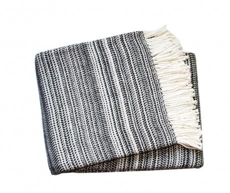 Priročna odeja Toscana Dark Grey 140x180 cm