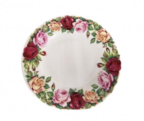 Rose Crown Desszertes tányér