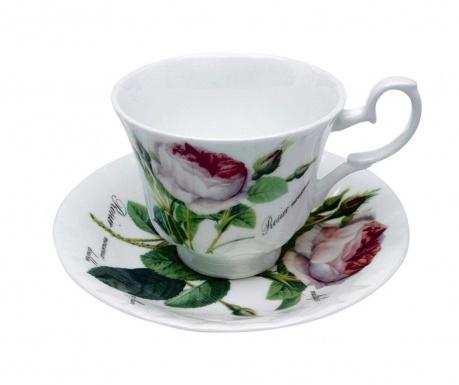 Redoute Rose Csésze és kistányér
