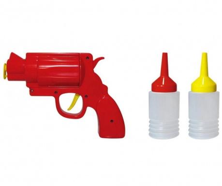 Dávkovač na omáčky Gun