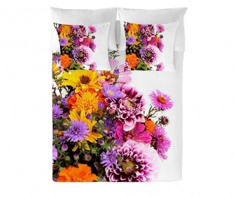 Posteljnina Single Ranforce Flowers