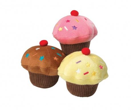 Cupcake Yellow Játék házi kedvenceknek