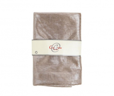 Dekoračný textil Glamour Champagne 150x300 cm