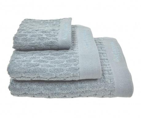 Zestaw 3 ręczników kąpielowych Palazzo Petroleum