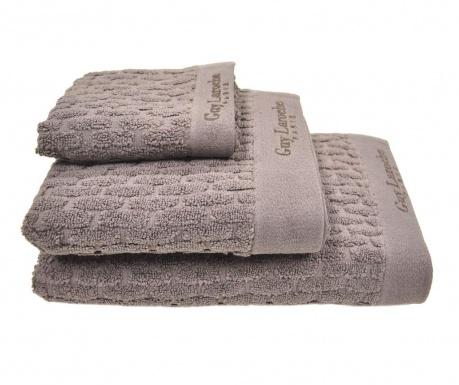 Zestaw 3 ręczników kąpielowych Palazzo Brown