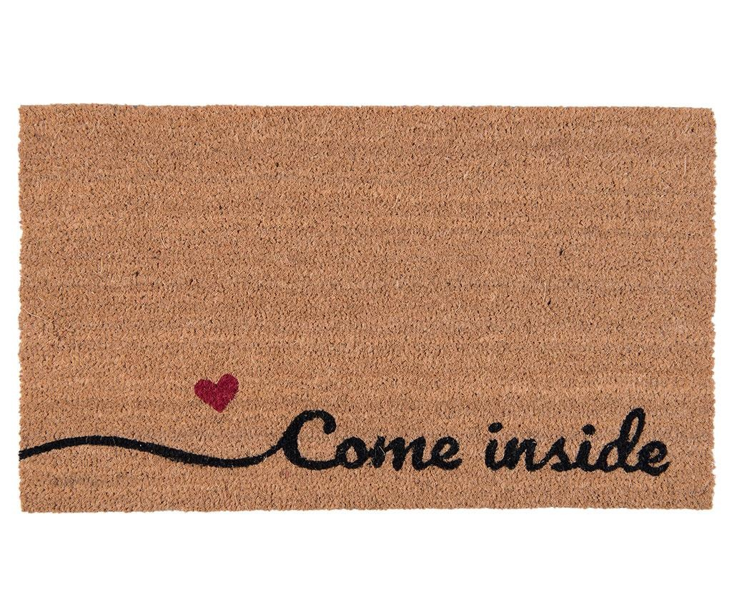 Come Inside Bejárati szőnyeg 45x75 cm
