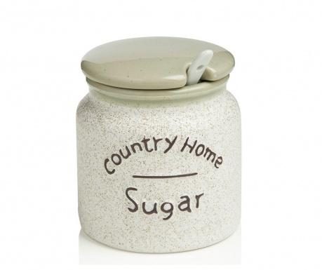 Country Home Tároló fedővel cukornak