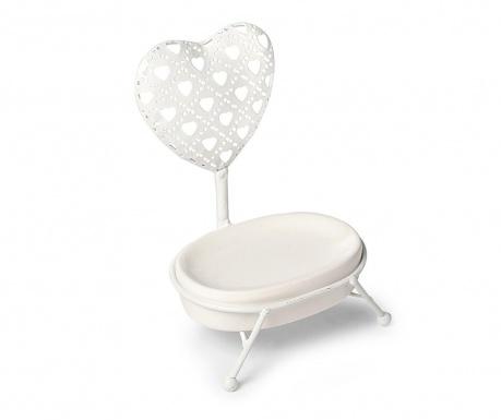 Posuda za sapun s držačem Cuore Heart