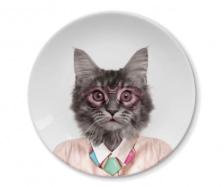 Mělký talíř Cat