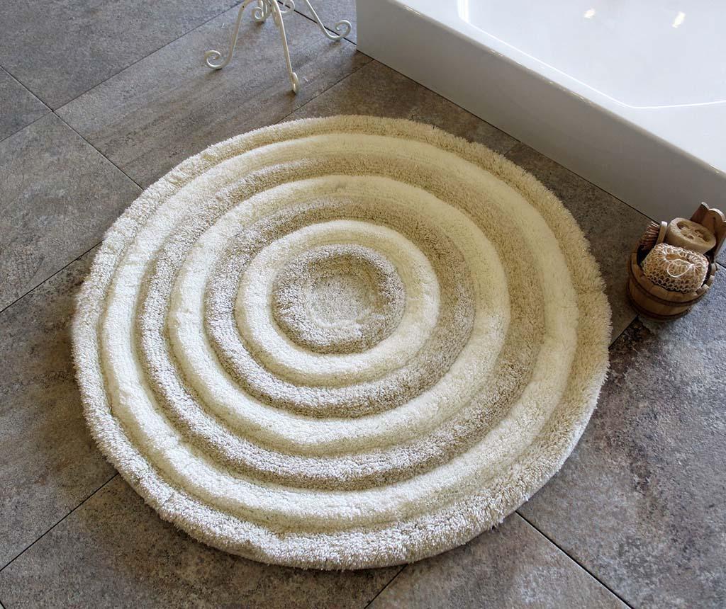 Tepih za kupaonicu Alessia Ecru 90 cm