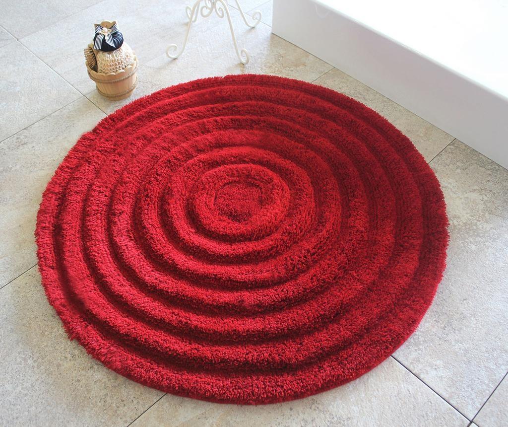 Alessia Red Fürdőszobai szőnyeg 90 cm