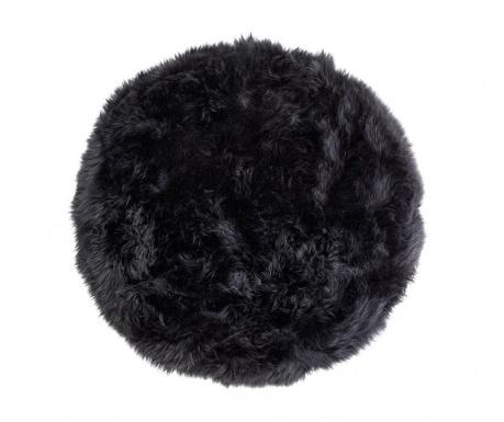 Leedo Round Black Szőnyeg 70 cm