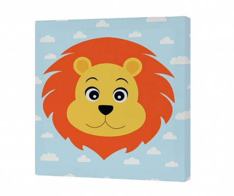 Slika Jungle Lion 27x27 cm