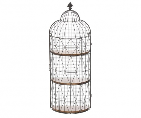 Raft de perete Cage Black Brown