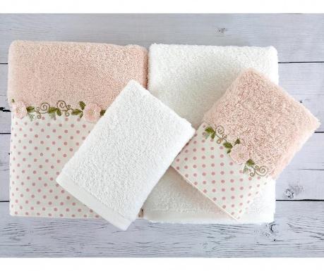 Σετ 4 πετσέτες μπάνιου Seti