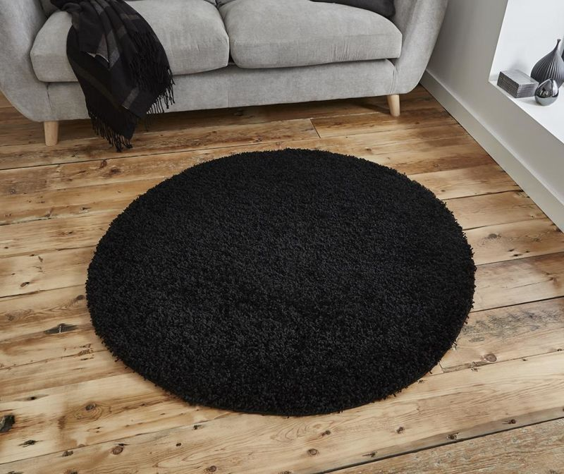 Covor Vista Black Circle 133 cm
