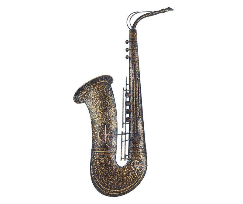 Saxophone Fali dekoráció