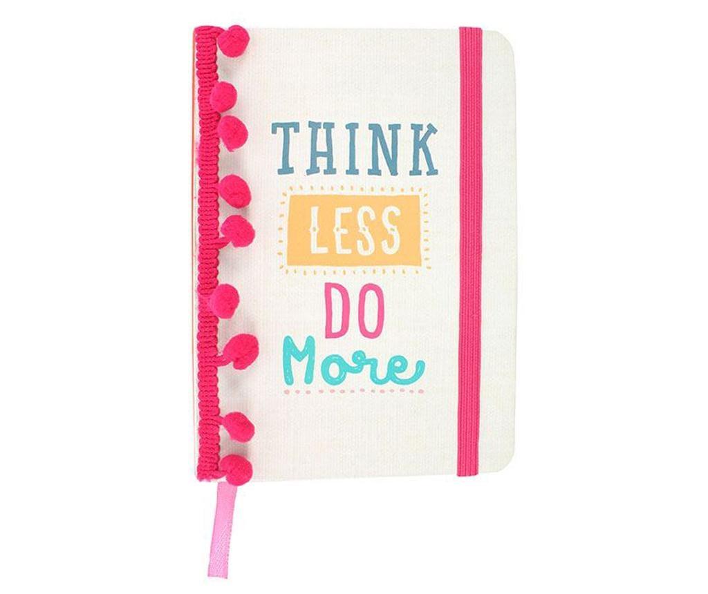 Beležka Think Less Do More