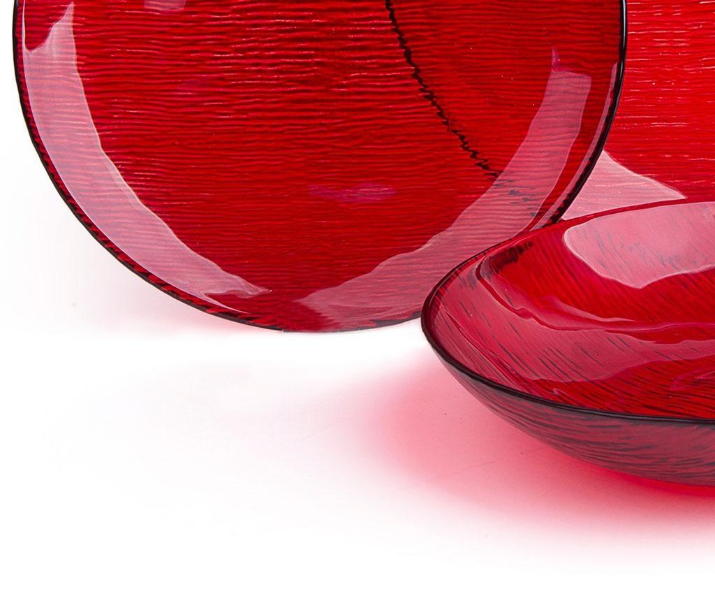 Jídelní souprava, 12 dílů Scatch Red