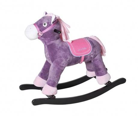 Hračka hojdačka Horse Fritz Purple