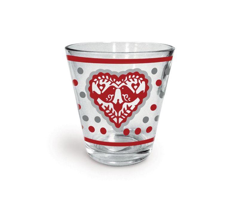 Čaša Jolly Hearts 250 ml