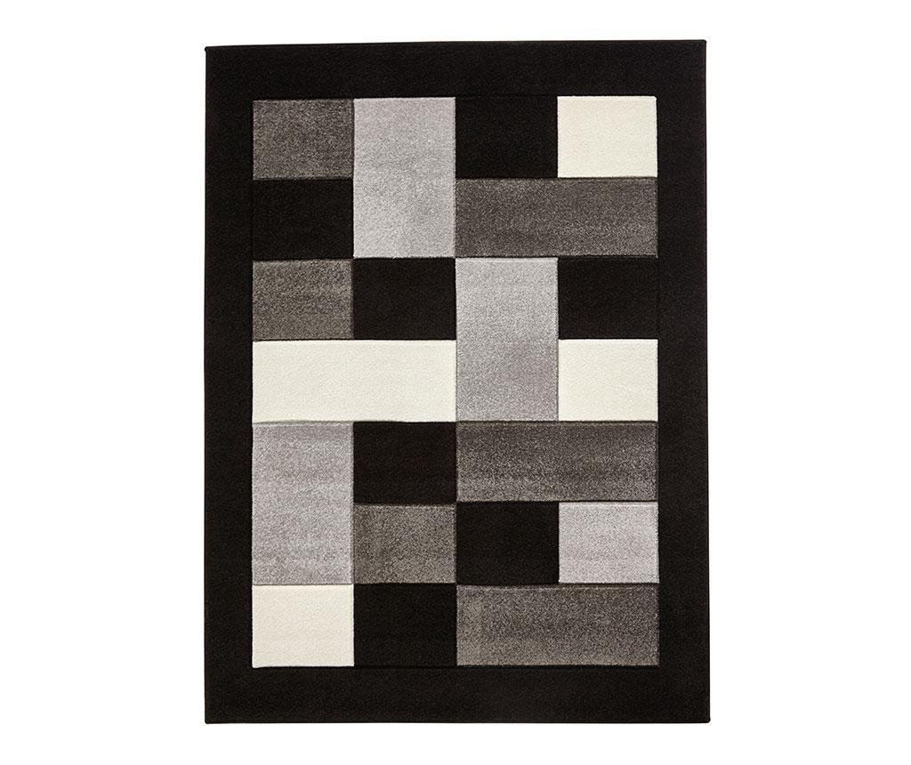 Koberec Matrix Black & Grey 120x170 cm
