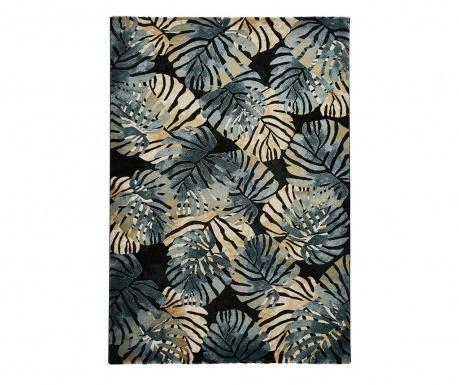 Covor Tropics Black & Blue