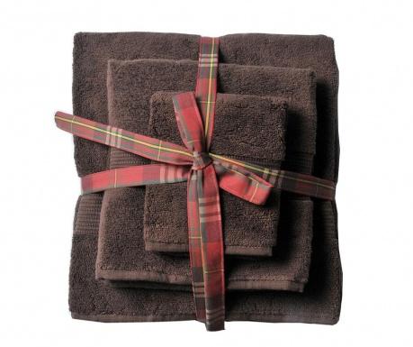 Комплект 3 кърпи за баня Chicago Espresso