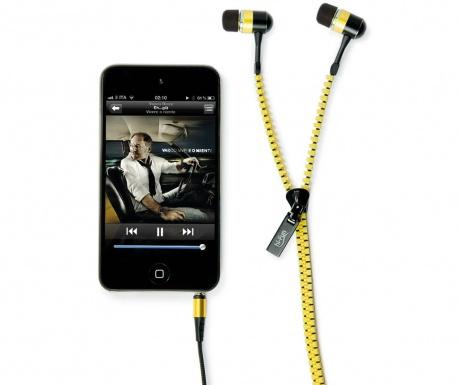 hi-Zip Yellow Fülhallgató