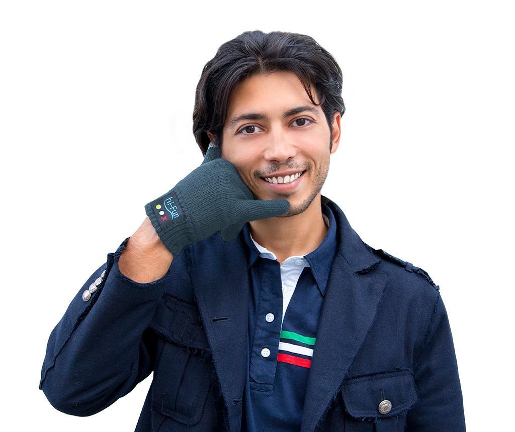 Pánske rukavice Smart hi-Call Knit Dark Grey