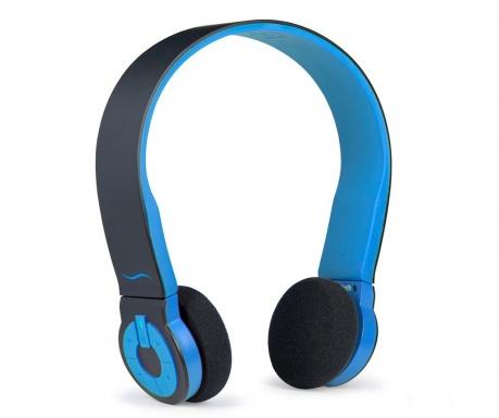 hi-Edo Black Blue Bloototh fejhallgató