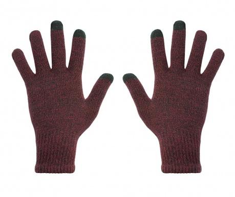 Manusi Touchscreen dama hi-Glove Classic Gradient Dark Cherry
