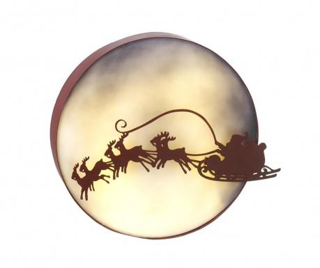 Decoratiune luminoasa Santa Flying