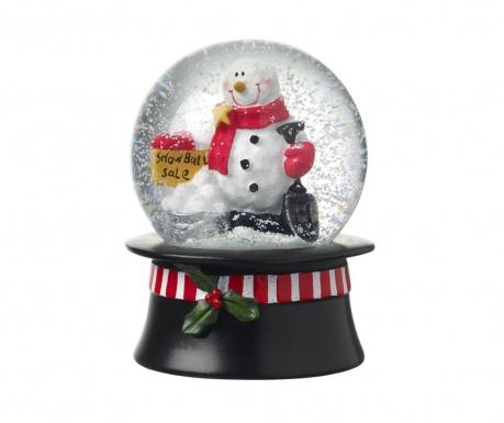 Decoratiune Snowman Globe