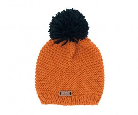 Caciula Handy Orange and Black 52-56 cm