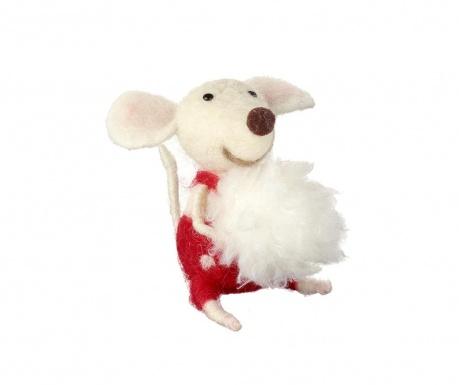 Decoratiune Mouse Snow Ball