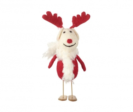 Decoratiune Reindeer With Scarf