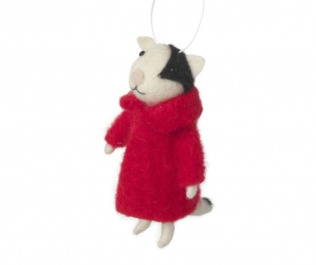 Decoratiune suspendabila Cat In Red