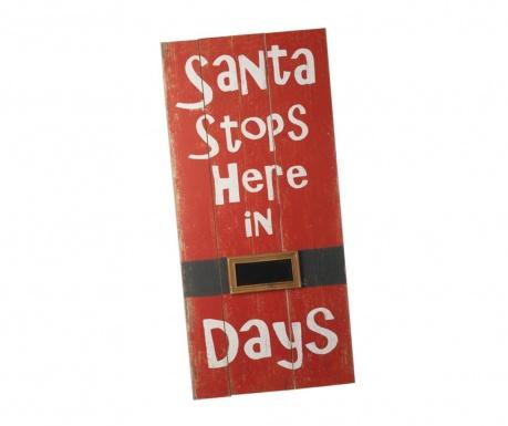 Decoratiune Stop Santa