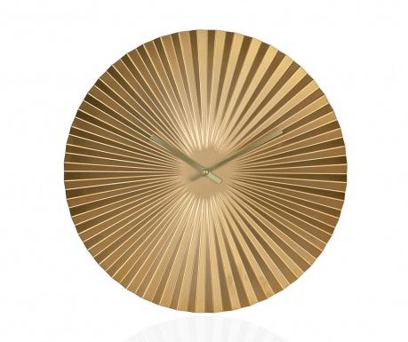 Ceas de perete Origami Gold
