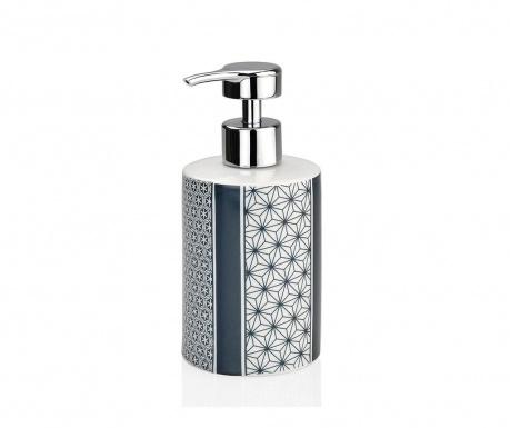 Dispenser sapun lichid Stars Black and White