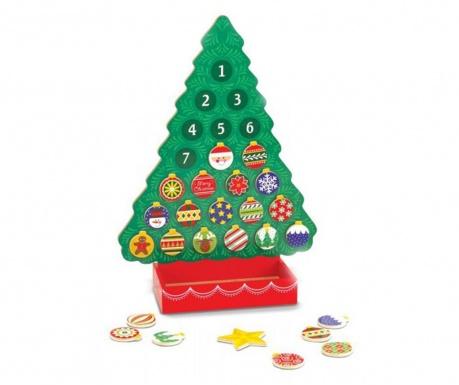 Calendar advent Christmas Tree