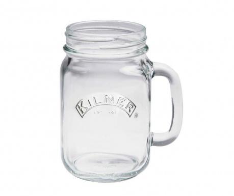 Чаша Kilner Clip Transparent