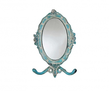 Cuier cu oglinda Blue Roses
