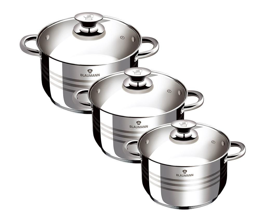 3-dijelni set posuda za kuhanje Gourmet