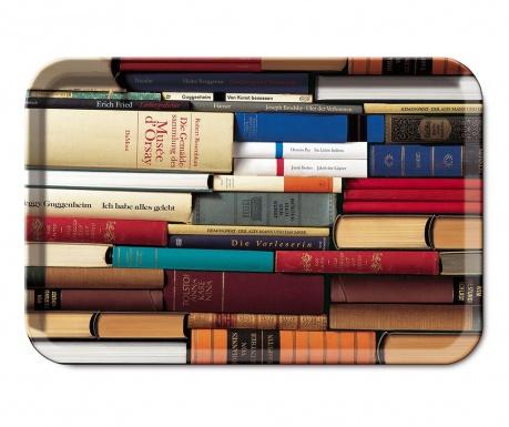 Tava pentru servire Bookworms