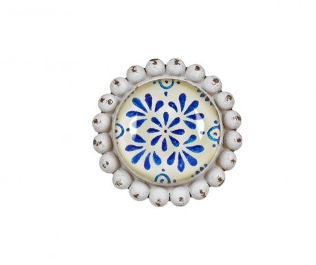 Buton pentru sertar Blue Flowers
