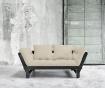 Sofa extensibila Beat Black and Dove Grey