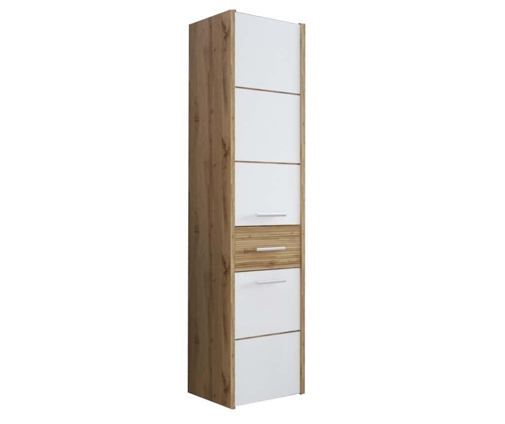 Viseč element Ibiza White and Wood